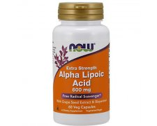 NOW ALA (Kwas Alfa Liponowy) Plus Grape Seed Ext & Bioperine