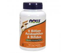 NOW 8 Billion Acidophilus & Bifidus (Probiotyki i prebiotyki)
