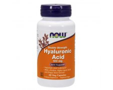 NOW Hyaluronic Acid 100mg  +  Antyoksydanty