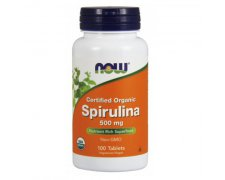 NOW Spirulina 500mg