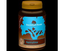 Spirulina BIO Rainforest Foods (300 tabletek x 500 mg)