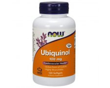 NOW Ubiquinol (Koenzym Q10) 100mg
