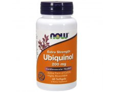 NOW Ubiquinol (Koenzym Q10)  200mg