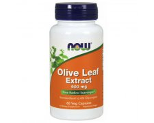 NOW Olive Leaf (Liść Oliwny) Extract 500mg