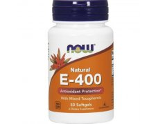 NOW Witamina E-400 Naturalna (Mix Tokoferoli)