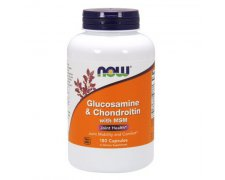 NOW FOODS Glucosamine & Chondroitin & MSM
