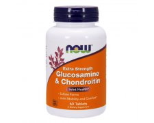 NOW FOOFS Glucosamine & Chondroitin 750mg / 600mg