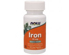 NOW Iron Bisglycinate (Chelat Żelaza) 18mg