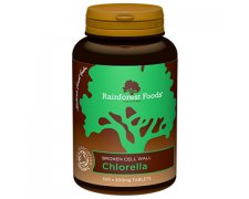 Chlorella BIO Rainforest Foods (300 tabletek x 500 mg)